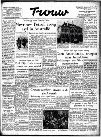 Trouw / De Rotterdammer 1954-04-20