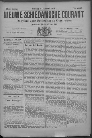 Nieuwe Schiedamsche Courant 1901-01-06