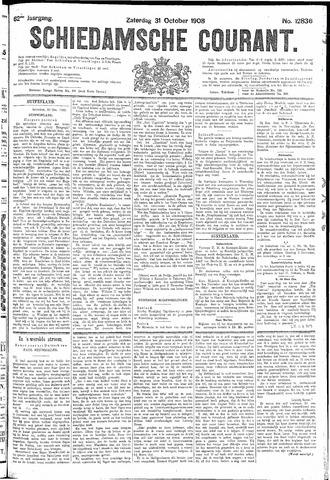 Schiedamsche Courant 1908-10-31