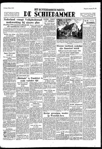 Rotterdamsch Parool / De Schiedammer 1949-03-04
