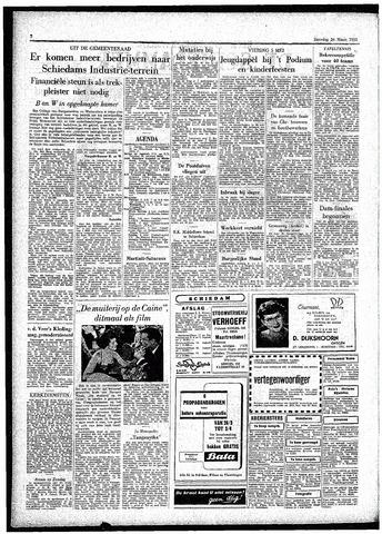 Rotterdamsch Parool / De Schiedammer 1955-03-26