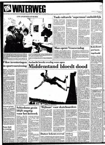 Rotterdamsch Nieuwsblad / Schiedamsche Courant / Rotterdams Dagblad / Waterweg / Algemeen Dagblad 1991-02-19