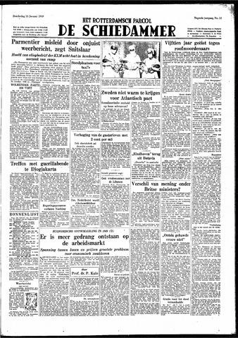 Rotterdamsch Parool / De Schiedammer 1949-01-13