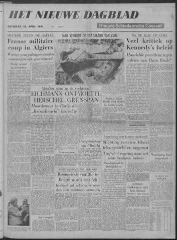 Nieuwe Schiedamsche Courant 1961-04-22