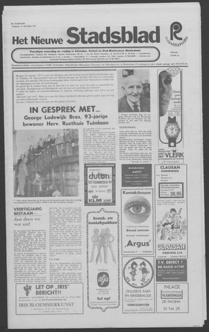Het Nieuwe Stadsblad 1971-10-15