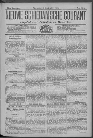 Nieuwe Schiedamsche Courant 1909-09-15