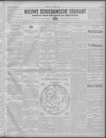 Nieuwe Schiedamsche Courant 1932-04-05