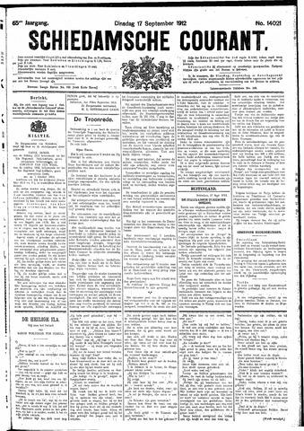 Schiedamsche Courant 1912-09-17