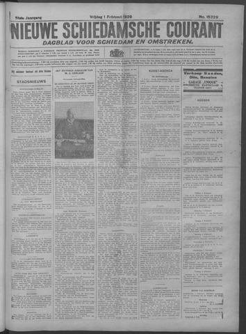 Nieuwe Schiedamsche Courant 1929-02-01