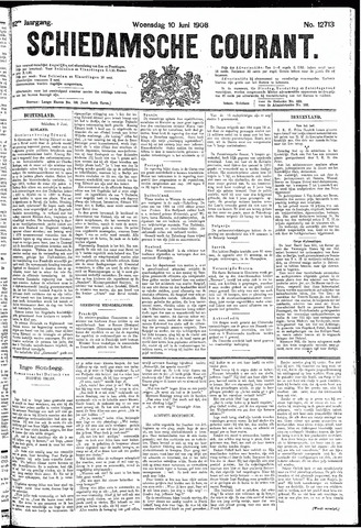 Schiedamsche Courant 1908-06-10