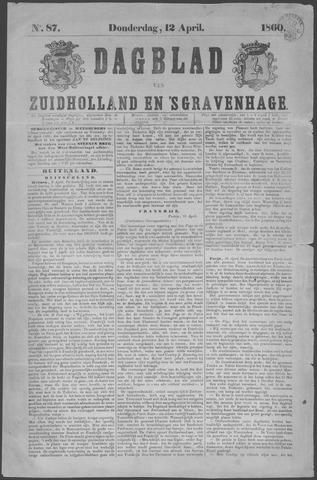 Dagblad van Zuid-Holland 1860-04-12