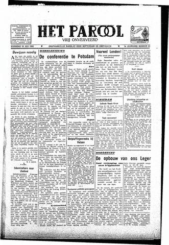 Rotterdamsch Parool / De Schiedammer 1945-07-16