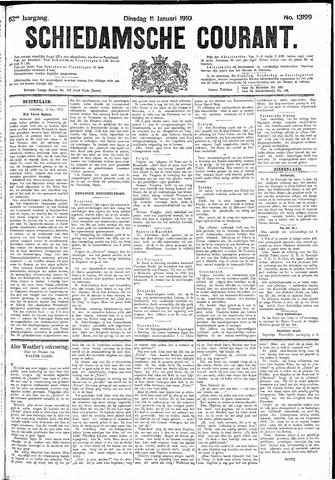 Schiedamsche Courant 1910-01-11