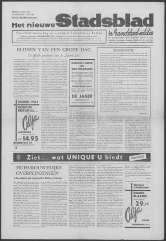 Het Nieuwe Stadsblad 1963-06-07