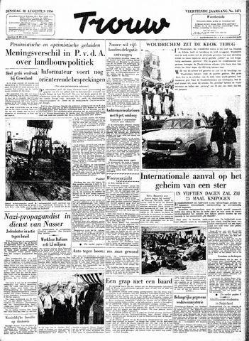 Trouw / De Rotterdammer 1956-08-28