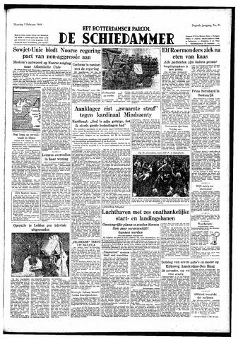 Rotterdamsch Parool / De Schiedammer 1949-02-07
