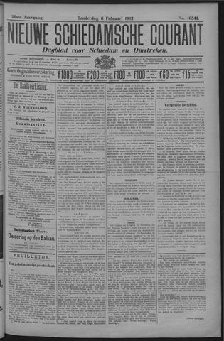 Nieuwe Schiedamsche Courant 1913-02-06