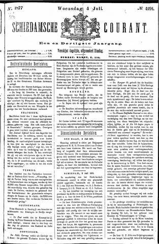 Schiedamsche Courant 1877-07-04