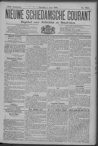 Nieuwe Schiedamsche Courant 1909-06-01