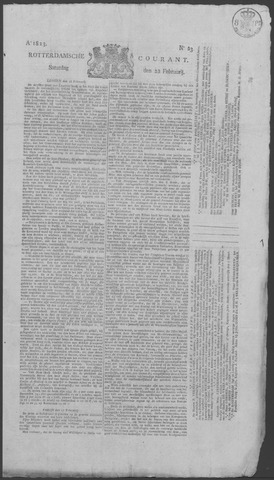 Rotterdamse Courant 1823-02-22