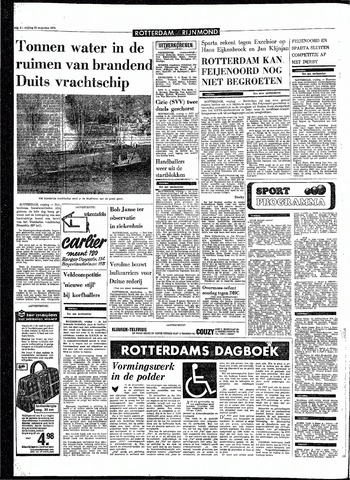 Rotterdamsch Parool / De Schiedammer 1970-08-28