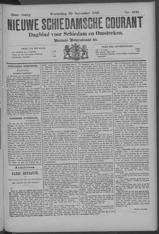 Nieuwe Schiedamsche Courant 1897-11-10