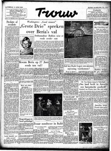 Trouw / De Rotterdammer 1953-07-11