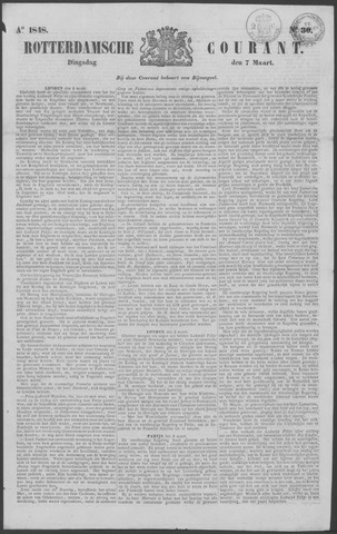 Rotterdamse Courant 1848-03-07