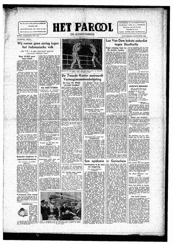Rotterdamsch Parool / De Schiedammer 1946-08-08