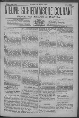 Nieuwe Schiedamsche Courant 1909-03-08