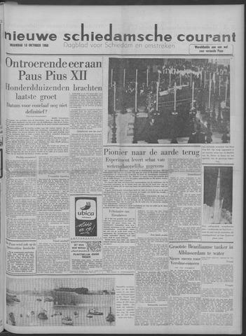 Nieuwe Schiedamsche Courant 1958-10-13