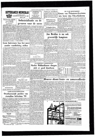 Rotterdamsch Nieuwsblad / Schiedamsche Courant / Rotterdams Dagblad / Waterweg / Algemeen Dagblad 1964-02-25