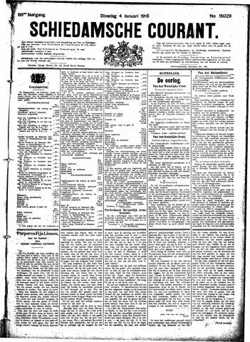 Schiedamsche Courant 1916-01-04