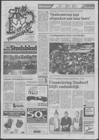 Het Nieuwe Stadsblad 1989-09-27