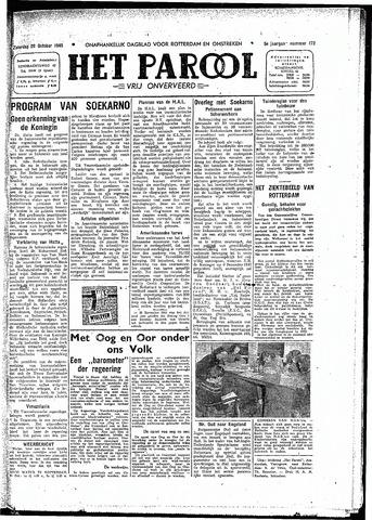 Rotterdamsch Parool / De Schiedammer 1945-10-20