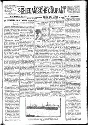 Schiedamsche Courant 1931-12-17