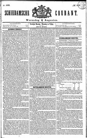 Schiedamsche Courant 1866-08-08