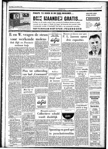 Rotterdamsch Parool / De Schiedammer 1961-11-11