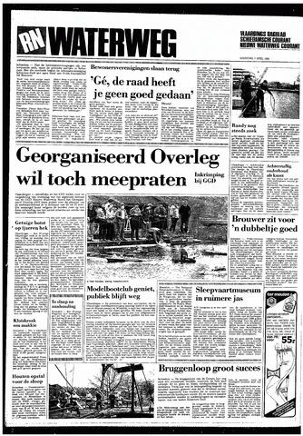 Rotterdamsch Nieuwsblad / Schiedamsche Courant / Rotterdams Dagblad / Waterweg / Algemeen Dagblad 1985-04-01