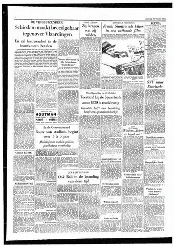 Rotterdamsch Parool / De Schiedammer 1955-10-29