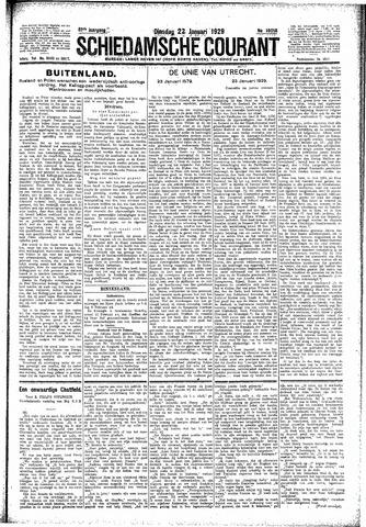 Schiedamsche Courant 1929-01-22