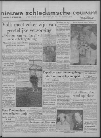 Nieuwe Schiedamsche Courant 1958-09-25