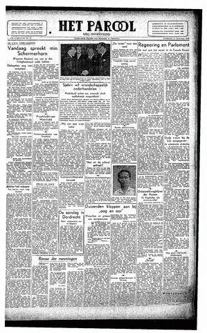 Rotterdamsch Parool / De Schiedammer 1946-01-15