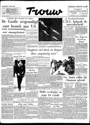 Trouw / De Rotterdammer 1958-07-07