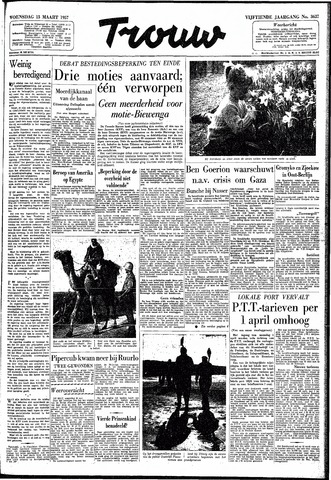 Trouw / De Rotterdammer 1957-03-13