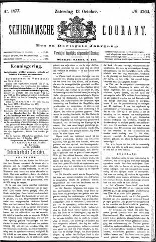 Schiedamsche Courant 1877-10-13