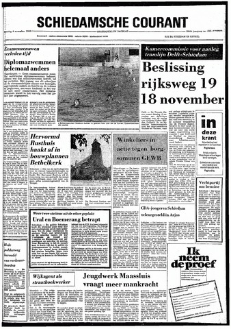 Rotterdamsch Nieuwsblad / Schiedamsche Courant / Rotterdams Dagblad / Waterweg / Algemeen Dagblad 1980-11-04
