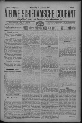Nieuwe Schiedamsche Courant 1913-08-06