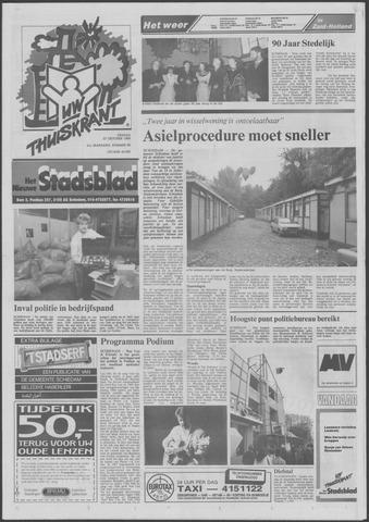 Het Nieuwe Stadsblad 1989-10-27