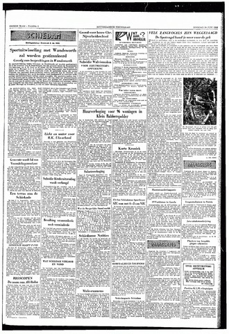 Rotterdamsch Nieuwsblad / Schiedamsche Courant / Rotterdams Dagblad / Waterweg / Algemeen Dagblad 1953-06-30